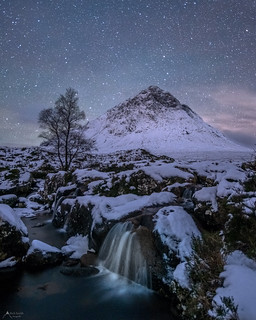 buachaille etive mor with a twist