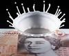 The Queens New Crown (g3az66) Tags: thequeensnewcrown maj thequeen crown hermajesty doublecream splashart £10 plasticmoney