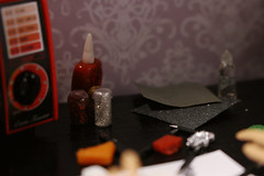 Handmade gifts. Polymer clay (kinmegami) Tags: barbie rement diorama roombox polymerclay miniature handmade christmastree christmas