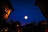 Der Stern von Eutin (pyrolim) Tags: eutinlichterstadt stern twiete blauestunde