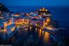 Vernazza zur blauen Stunde (AnBind) Tags: ausland fotoreise orte urlaub arrreisen italien cinqueterreundtoskana ereignisse 2017 vernazza liguria it