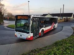 Bus Eireann MC310 (161C3095). (Fred Dean Jnr) Tags: buseireann cork mercedesbenz citaro mc310 161c3095 donnybrook douglas december2017 buseireannroute207