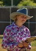 The Judge (swong95765) Tags: woman female lady blonde judge countyfair pretty hat clipboard cowgirl