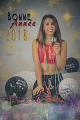 Bonne Année 2018 - Merci à Laure (www.michelconrad.fr) Tags: rouge vert bleu canon eos6d eos 6d ef24105mmf4lisusm 24105mm 24105 femme modele portrait studio noel fetes joyeusesfetes