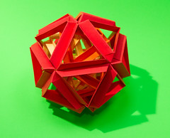 Skella Gamma Kusukusukusudamadamadama! (Brian Ritchie) Tags: kusudama mariasinayskaya skellagamma modular origami