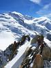 Chamonix. (julien ( l'ours )) Tags: canon eos 50d france chamonix aiguille du midi mont blanc montagne alpiniste climber mountainer montain climbing alpes alps