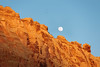 Capitol Reef at Golden Hour (DEARTH !) Tags: bluesky goldenhour utah moon landscape sunset travel birds nationalpark roadtrip fullmoon outdoor america capitolreef dearth nps
