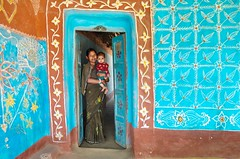Welcome to the beautiful home! (ashik mahmud 1847) Tags: bangladesh d5100 nikkor people pattern color design art paiting environmentportrait