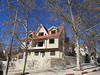 Uncompleted house and blue sky, Ifrane, Morocco (Paul McClure DC) Tags: morocco ifraneprovince maroc almaghrib jan2017 ifrane middleatlas architecture
