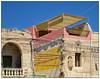 Crossed Wires (donbyatt) Tags: malta warmth sunshine blueskies buildings wires dereliction