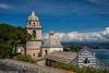 Porto Venere (AnBind) Tags: ausland fotoreise orte urlaub arrreisen italien cinqueterreundtoskana ereignisse 2017 portovenere liguria it ligurischeküste kirche wolken