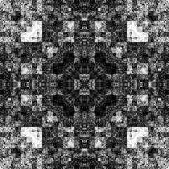 1162325926 (michaelpeditto) Tags: art symmetry carpet tile design geometry computer generated black white pattern