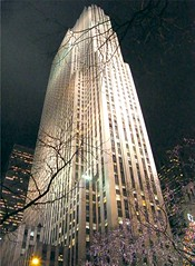 The Building (Stanley Zimny (Thank You for 28 Million views)) Tags: nyc christmas holiday light night newyork tree building architecture rockefellercenter