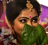 A Bengali Bride (Biswajit_Dey) Tags: tradition bengaliwedding marriageceremony bengalibride kalyani india westbengal portrait