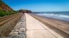 Dawlish Warren Devon, UK (jamiepacker99) Tags: england may dawlish 2017 dawlishwarren uk rail railline coast cliff seascape landscape shoreline canoneos6d canonef24105mmf4lisusmlens coastalpath