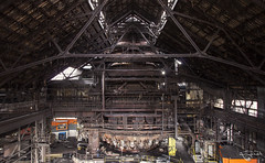 Height Reference (Left in the Lurch) Tags: urbex abandoned industry blastfurnace