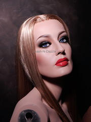 Karen Mulder (dashndazzle) Tags: dashndazzle mannequin makeup glass eyes karen mulder seduction collection