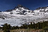 Mt Ritter with 1000 Island Lake (speedcenter2001) Tags: johnmuirtrail jmt california anseladamswilderness wilderness outdoor hiking backpacking mountains snow 1000islandlake lake ice