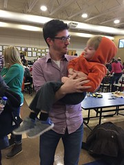 """Paul with Uncle Adam at the Warren Children's Play • <a style=""""font-size:0.8em;"""" href=""""http://www.flickr.com/photos/109120354@N07/27613016709/"""" target=""""_blank"""">View on Flickr</a>"""