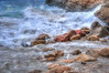 (884/17) Feliz 2018 (Pablo Arias) Tags: pabloarias photoshop photomatix capturenxd españa agua mar mediterráneo largaexposición roca ola mimetismo calatximo benidorm elrincóndelois laicante