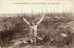 The Trenches Christ (SwellMap) Tags: postcard vintage retro pc 30s 40s 50s 60s thirties forties sixties fifties roadside midcentury atomicage nostalgia americana advertising coldwar artdeco linen design style architecture building