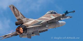 Lockheed Martin F-16C Barak