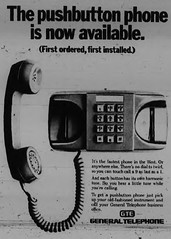 GTE 'Touch Call' Service Now Available in Monticello, IL 1976-04-08 (RLWisegarver) Tags: piatt county history monticello illinois usa il