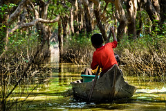 Kampong Phluk (Valdas Photo Trip) Tags: cambodia siem reap floating village travel people mangrove