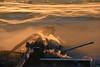 Inversion (Missabe Road) Tags: ic 6263 americanintegrity cndock6 inversion sunrise