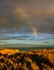 Rainbow bay (lizcaldwell72) Tags: hawkesbay sunrise napier cloud water sky capekidnappers rainbow newzealand light