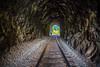 Things We Said Today (Thomas Hawk) Tags: america glendale oregon southernoregon usa unitedstates unitedstatesofamerica traintracks tunnel fav10 fav25 fav50 fav100