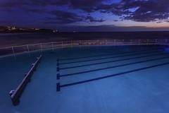 Bronte Blue (RoosterMan64) Tags: australia bronte landscape longexposure nsw rockpool seascape sunrise