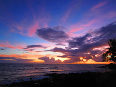 Complex sunset (andyontravel) Tags: kauai poipu sunset