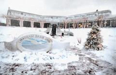 Chatham Bars Inn at Christmas (Chris Seufert) Tags: capecod chatham christmas snow barsinn resort