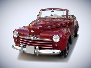 1941 Ford V8 Super Deluxe Convertible