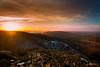Sunset at Vitosha Mountain (ivokirezov) Tags: landscape mountain sunset cloud rocks tree sun forest peak sofia bulgaria lights flare sony tokina111628