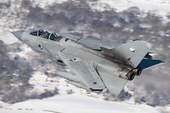 31 Squadron RAF Tornado GR4 ZD849 (Tom Dean.) Tags: gr4 marham monster exit tornado 2017 snow zd849