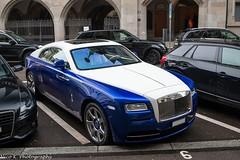 Wraith (Nico K. Photography) Tags: rollsroyce wraith blue white supercars luxury spec nicokphotography switzerland zürich