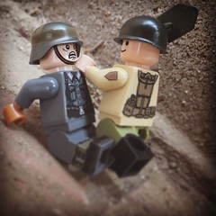 When you realize you slaughtered the enemy team using a shovel. (Sgt.BrickBrowns) Tags: