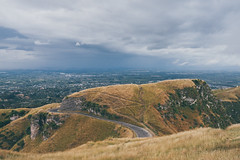 Te Mata Peak (bruit_silencieux) Tags: tematapeak mountains hastings hawkesbay newzealand cloudy view landscape nature sonya7 sigma35mm14art road
