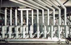 •Industrial on Film - Kodak Portra 160 (hgxphoto) Tags: urbandecay urbanexplorer urbanexploration urbex abandoned film 35mm kodakportra160 industrial