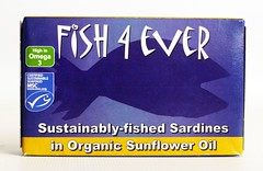 FE008 Sardines in Org. Sunflower Oil (2) (OrganicoRealfoods) Tags: fish productshot uk english box sunfloweroil sardines