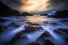 Getting Battered (Augmented Reality Images (Getty Contributor)) Tags: portknockie longexposure wavesseaweed composition landscape leefilters water scotland coastline morayfirth canon clouds seascape rocks unitedkingdom gb