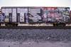 TITS (TRUE 2 DEATH) Tags: tits titscrew wholecar boxcar train freight railroad benching railfan railcar trains graffiti graf railways tag freighttrain freighttraingraffiti rollingstock