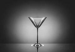 Anticipation (yasjooni) Tags: nikon nikond7200 d7200 glass blackwhite blackandwhite monotone monochrome 85mm reflections reflection studio