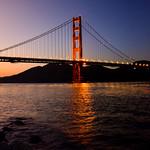 Golden Gate Bridge - From Sunset to Night thumbnail