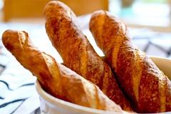 Christmas Eve Baguettes (sarabernheisel) Tags: baguette bread baking wildyeast