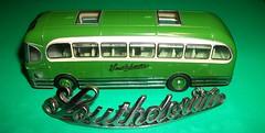 Southdown Motor Services cap Badge and model coach. (Ledlon89) Tags: southdown southdownmotorservices sussex brighton buses coaches southcoast southeastengland transport badge modelcoach weymann fanfare leyland leylandtigercub modelbusesandcoaches scalemodel alltypesoftransport