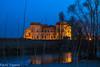 Castello di Mesola (paolotrapella) Tags: castle castello mesola italy riflesso waterscape water blu orablu