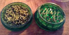 Crumbling herb✌❤ (wbstzone) Tags: weed marijuana green 420